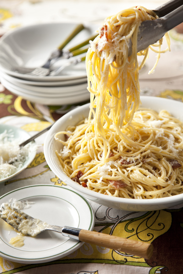 Pasta Alla Carbonara Recipe — Dishmaps