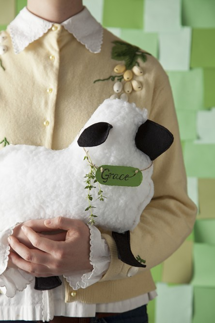 Lamb Pillow, Photo by Chia Chong, Styling by Libbie Summers