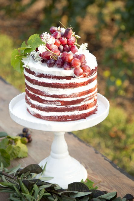 Chocolate Cabernet Naked Cake (Libbie Summers and Chia Chong for Salted and Styled)