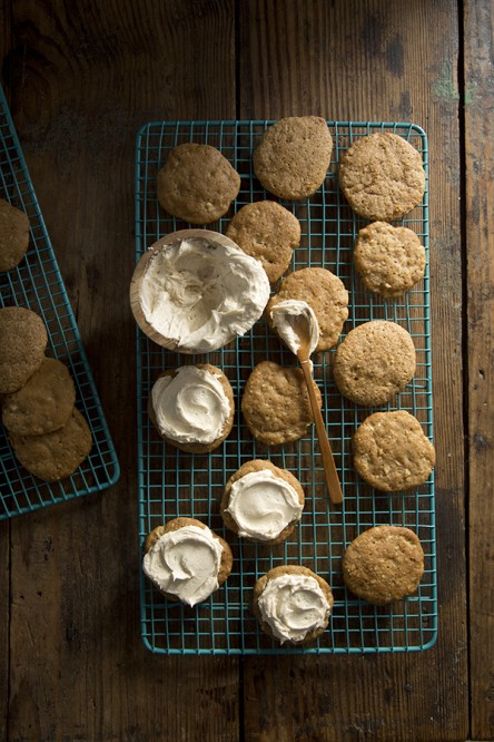 Pear Spice Cookies (Libbie Summers and Chia Chong for Salted and Styled)