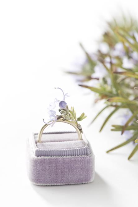 Blooming Rosemary Wedding Ring (Libbie Summers and Chia Chong for Salted and Styled)